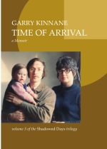 Cover - Time of Arrival - Garry Kinnane